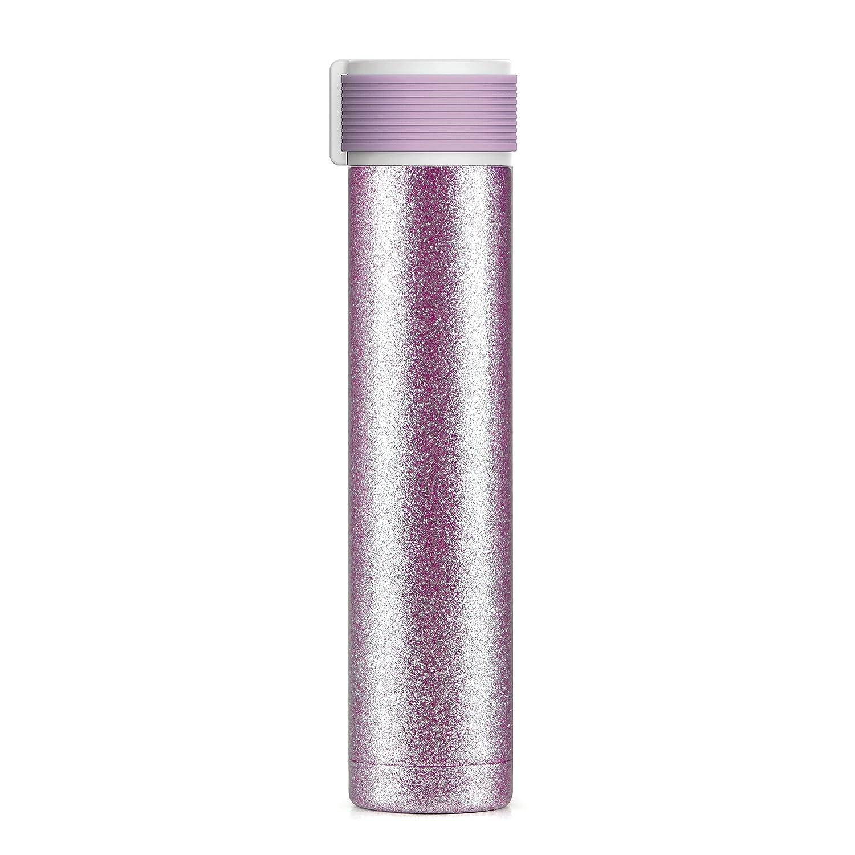 逆輸入 Asobu Skinny Glitter Fashon Forward二重壁ステンレススチール断熱ウォーターボトルBPAフリー8 B07B2JWXC6 Fashon oz Glitter ピンク sbv40 ピンク B07B2JWXC6, トナー本舗:e639c7ae --- a0267596.xsph.ru