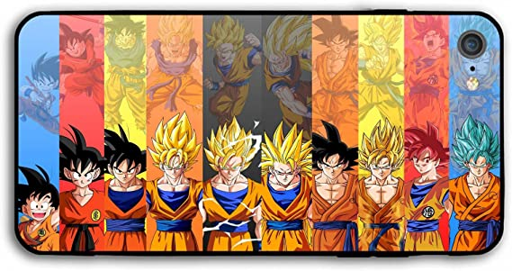 Case Funda Acrilico Dragon Ball Super Goku IPhone 7 - Multicolor
