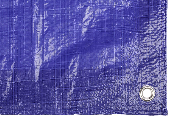 PE Abdeckplane,3 x 4 m blau