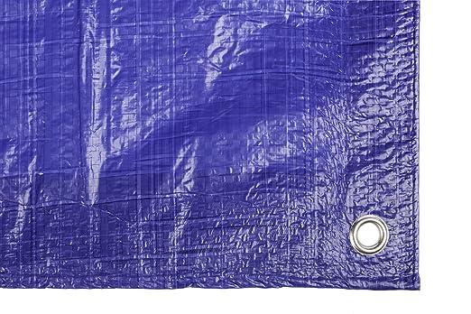 color azul Catral 560114 5 x 8 m Toldo reforzado gramaje 90 grs