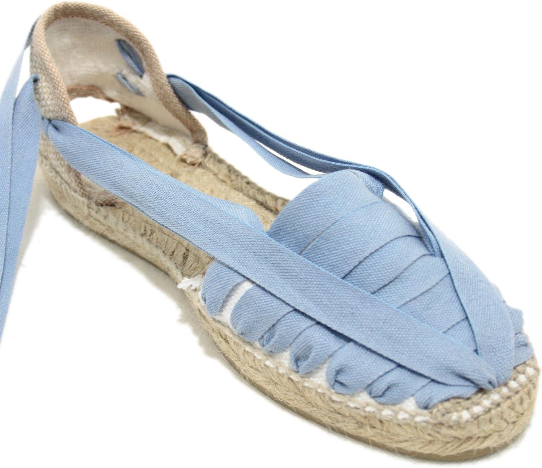 Alpargata Diseño Pintxo o Siete Vetas Azul Jeans