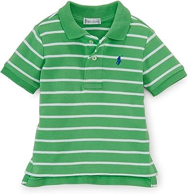 Ralph Lauren - Polo - para bebé niño Verde Verde 6 Meses: Amazon ...