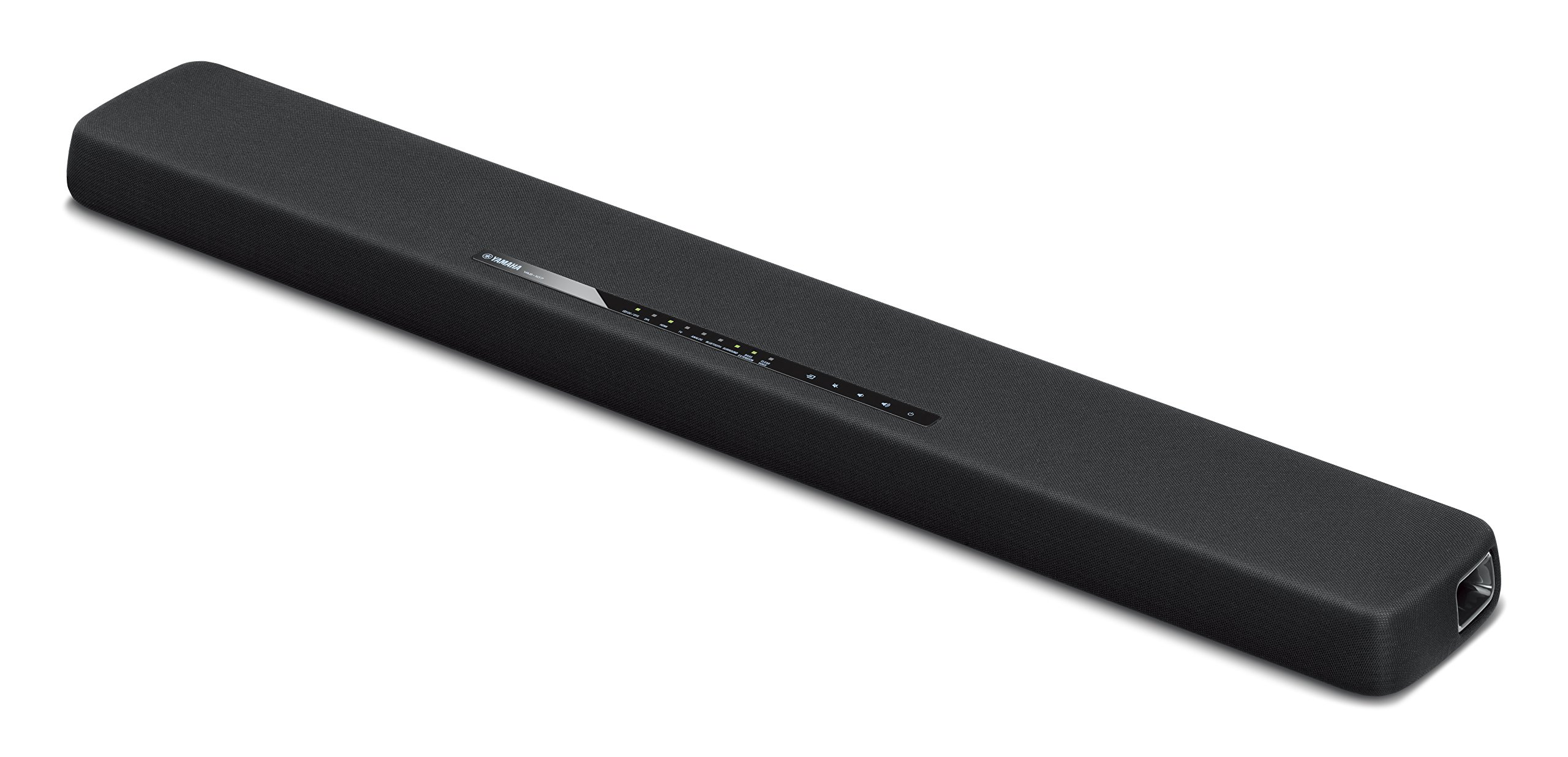 Yamaha YAS-107BL Sound Bar with Dual Built-In Subwoofers & Bluetooth Black by Yamaha