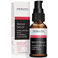 Retinol Serum 2.5% with Hyaluronic Acid, Aloe Vera, Vitamin E - Boost Collagen Production...