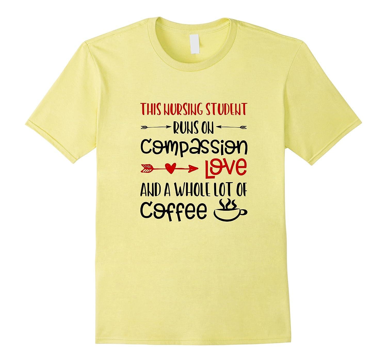 9068f23b Funny Nurse Shirts Gifts Nursing School Love Coffee Sayings-ANZ ...