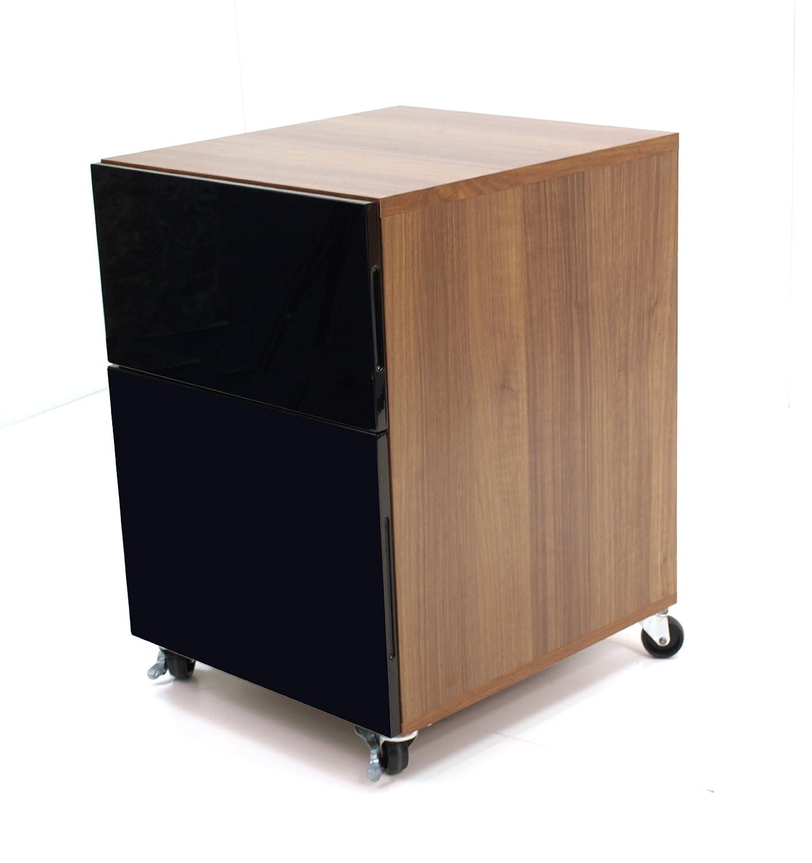 Alphason ALT63222-P-W Walnut Designer Pedestal