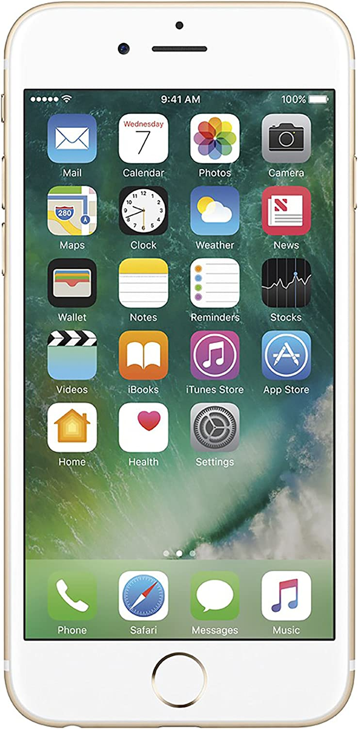 Apple iPhone 6S, 16GB, Gold - For AT&T (Renewed)