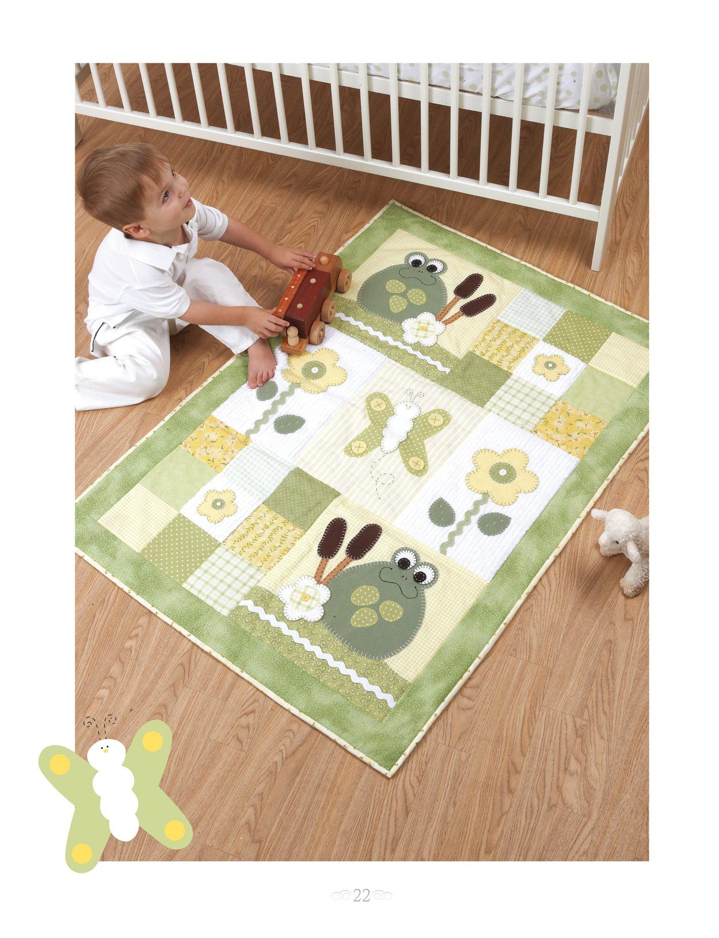 aplicaciones de patchwork con motivos infantiles: SUSAN COUSINEAU: 9788498742190: Amazon.com: Books