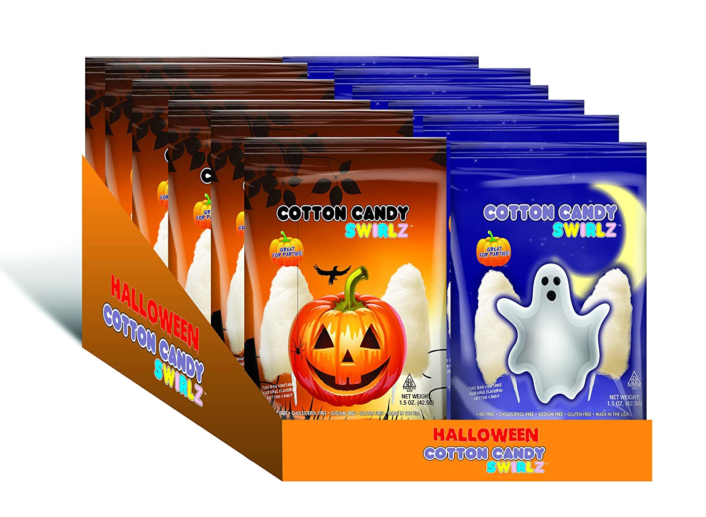 Halloween Cotton Candy