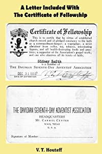 A Letter Included With The Certificate of Fellowship (The Shepherd's Rod Series)
