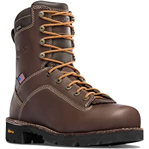 2. Danner Quarry Brown Waterproof Modern Battlefield Combat Boots