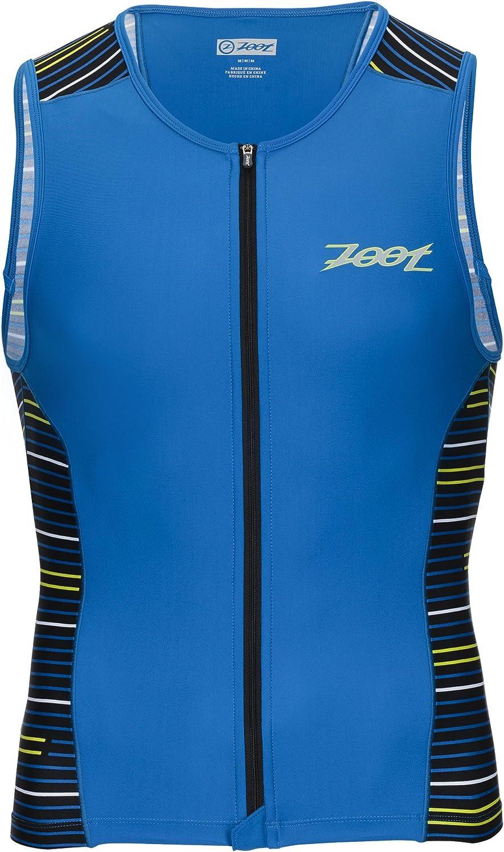Zoot Sports Mens Performance Tri Full-Zip Tank