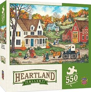 MasterPieces Heartland Dinner at Grandmas 550 Piece Jigsaw Puzzle by Bonnie White