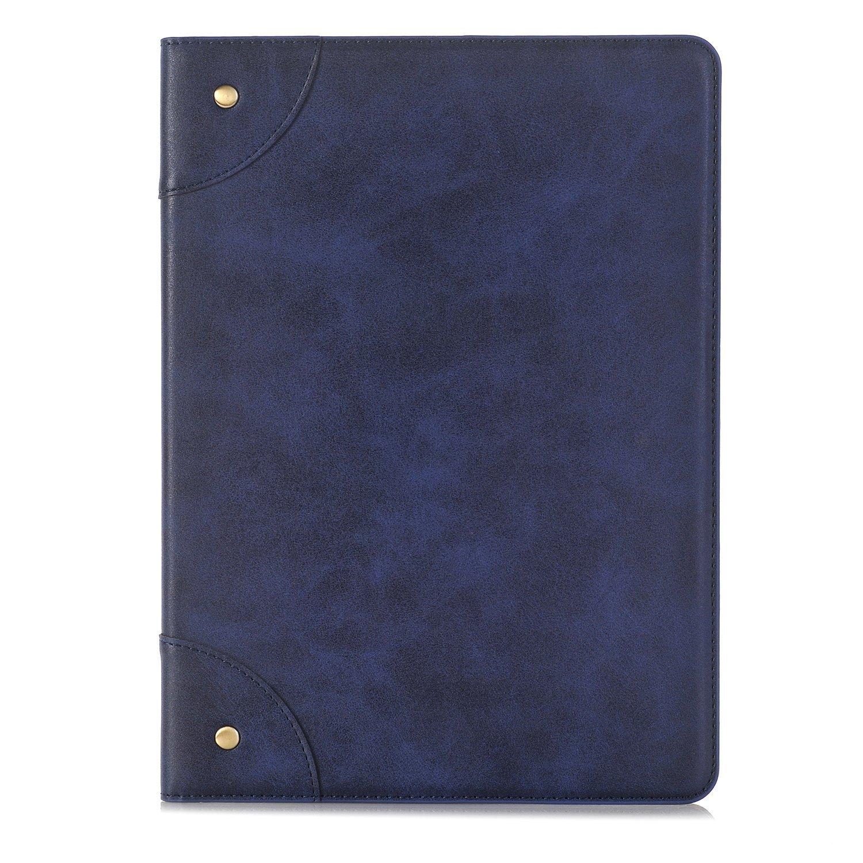 Samsung Galaxy Tab s3 9.7ファッションケースカバー, efuS Bookスタイルフォリオケースカバースタンド磁気PUレザーwithスマート自動スリープ/スリープ解除機能ケースカバーfor Galaxy Tab s3 9.7 Tab A 9.7 ブルー EF-FGSB-T550-BE B074386THK Tab A 9.7|ブルー ブルー Tab A 9.7