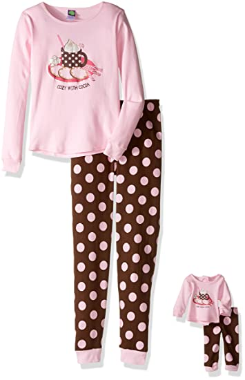 Amazon.com  Dollie   Me Girls Sporty Floral Sleepwear Set  Clothing b80101e00