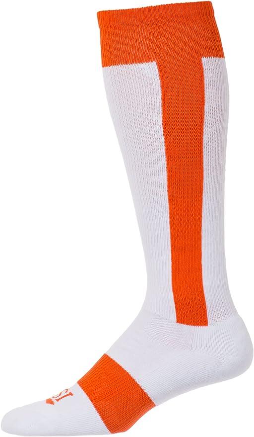CSI Cotton Striped Baseball knee High Sock Made in The USA