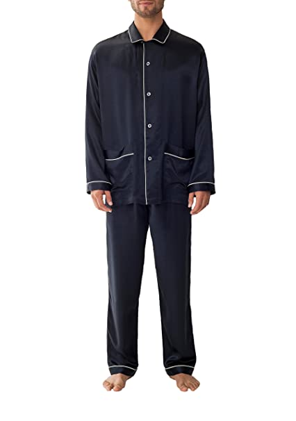 zimmerli - Pijama - para hombre azul azul oscuro