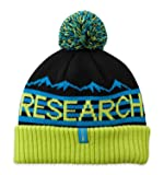 Outdoor Research Mainstay Beanie, Black/Lemongrass, 1size