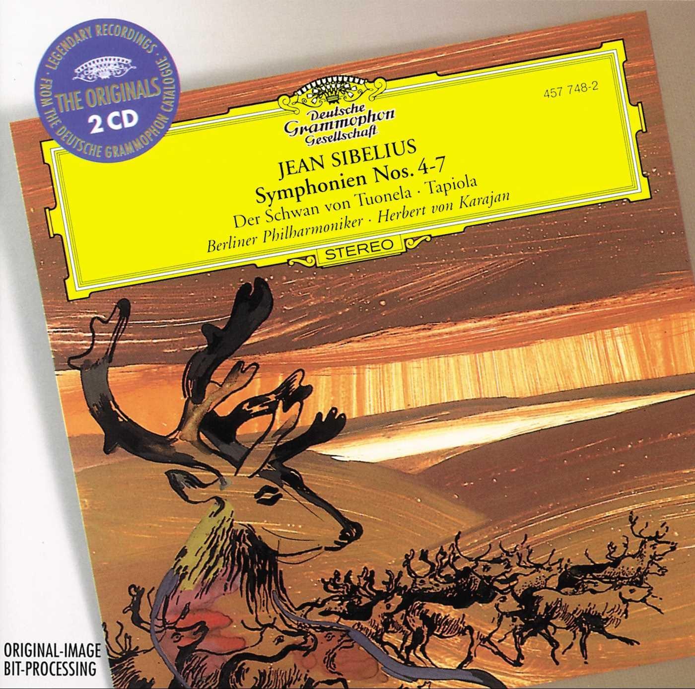Sibelius: Symphonies Nos. 4-7; Der Schwan von Tuonela; Tapiola