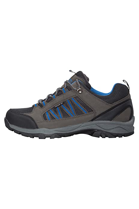 Amazon.com | Mountain Warehouse Path Mens Walking Shoes - Waterproof Running Shoes | Hiking Shoes