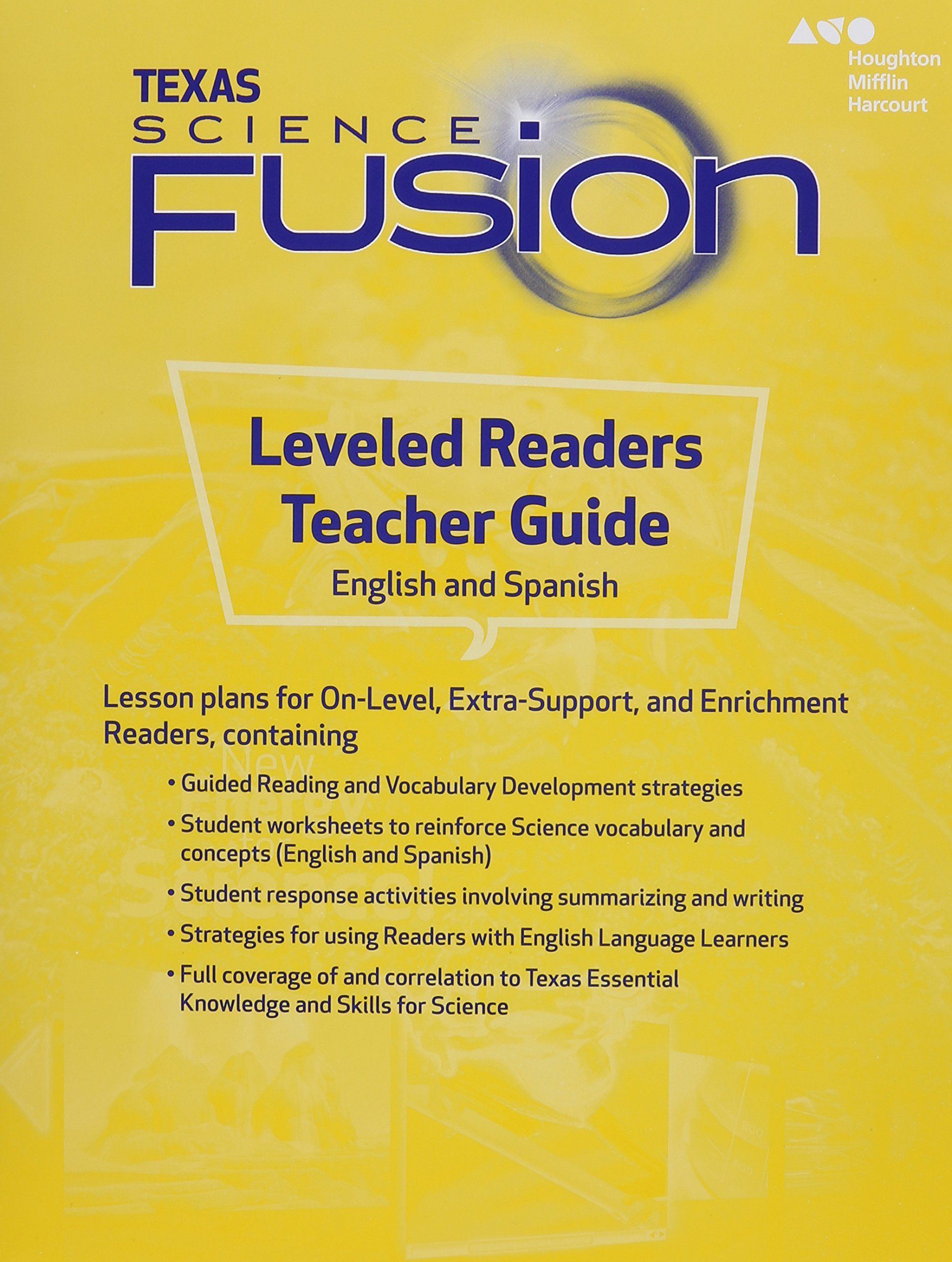 Science and Engineering Leveled Readers Texas: ScienceFusion Leveled Reader  Teacher Edition Grade 5 2015: 9780544046344: Amazon.com: Books