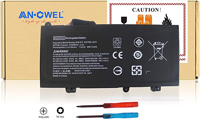 Top 10 Battery For Hp Envy Model7265ngw