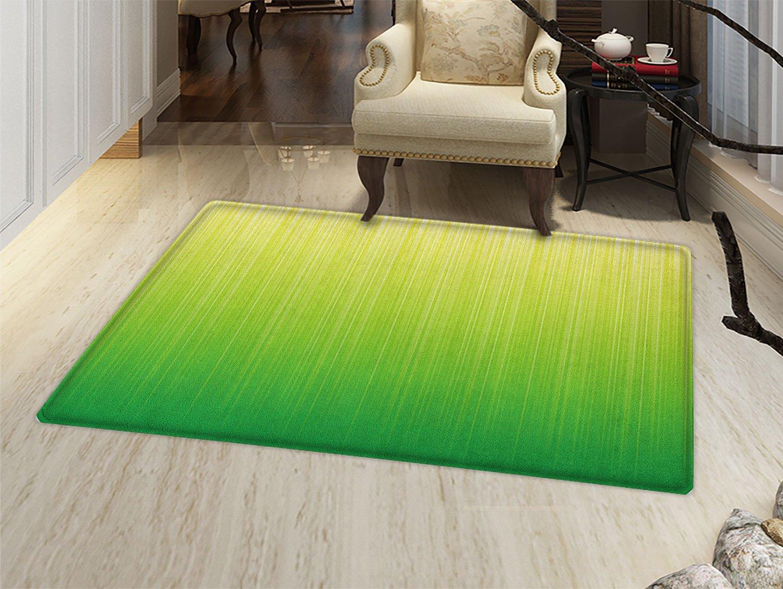 Amazon.com: smallbeefly verde lima Felpudo alfombra pequeña ...