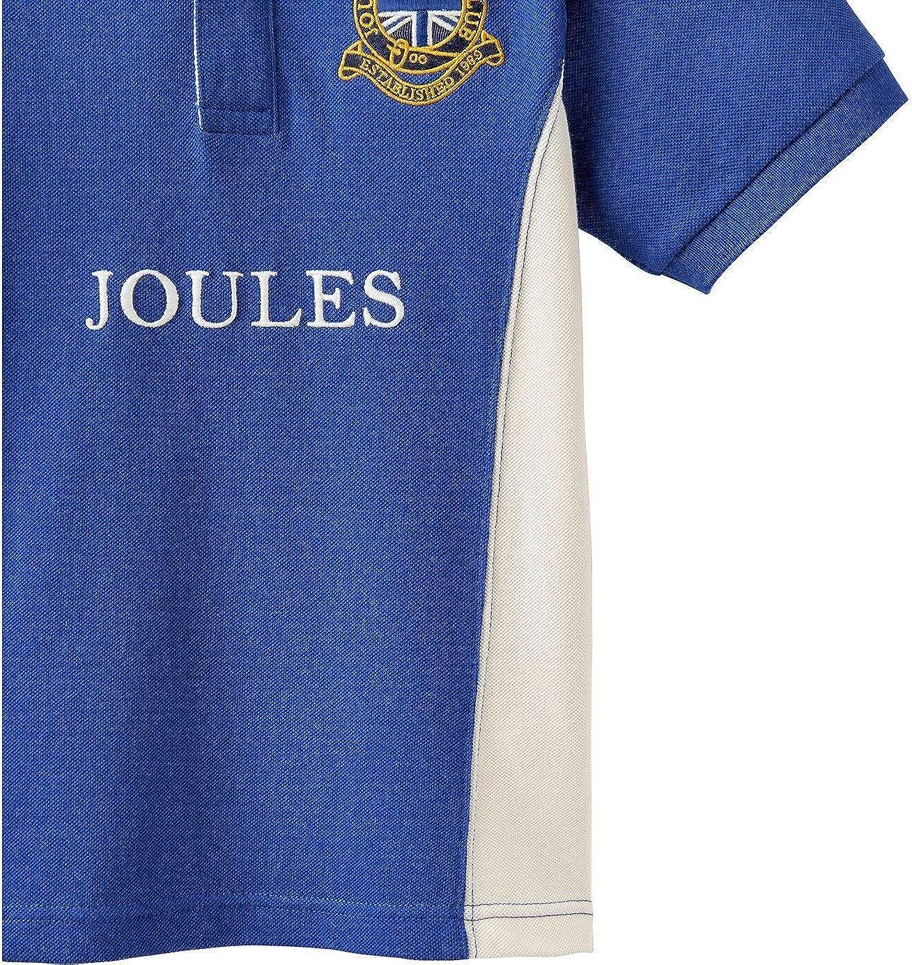 Tom Joule Poloshirt mit Stickerei Blau Wei/ß