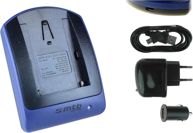 USB//Auto//Secteur Chargeur pour Sony NP-QM71 // CCD-TRV Voir liste! // DCR-DVD // HDR-UX