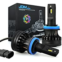 $49 » JDM ASTAR T1 10000 Lumens Extremely Bright High Power H11 H9 H8 All-in-One LED Headlight…