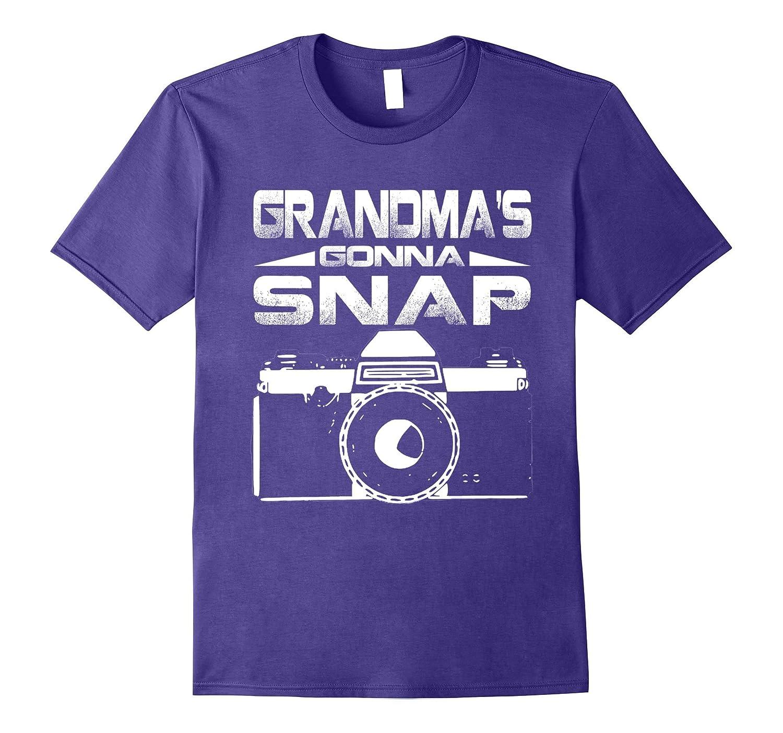 Grandmas Gonna Snap Photography Photographer T Shirt-Vaci