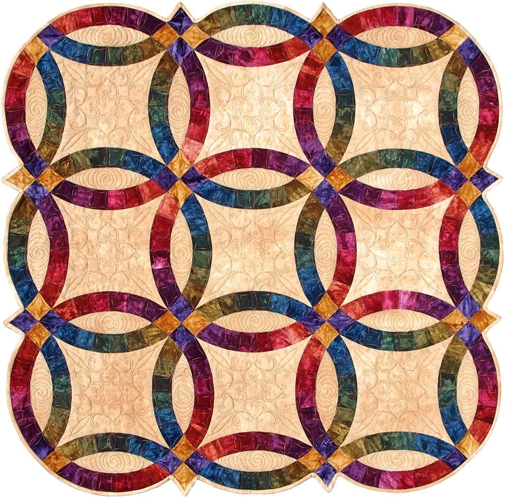 Double Wedding Ring Templates by Sharlene Jorgenson by Quilting From the Heartland