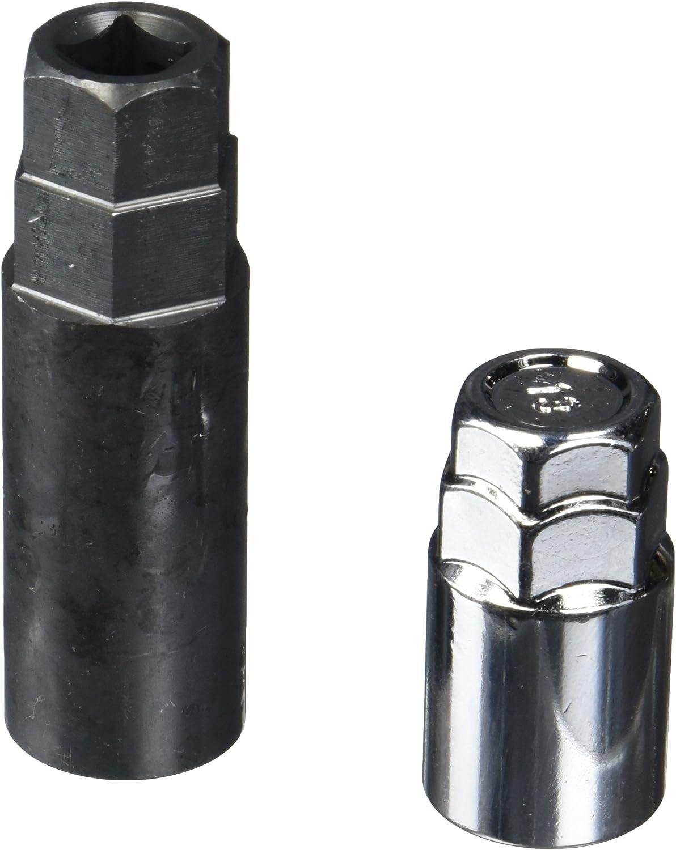 MUTEKI 32926SP SR35 Series Silver 12mm x 1.5 Thread Size Closed End Lug Nut, Set of 20