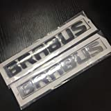 KMD Metal Style Badges Car Stickers for Brabus