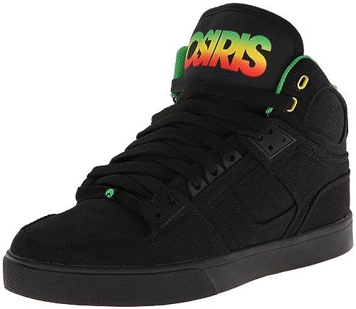 Osiris - Zapatillas de skateboarding para hombre, color negro, talla 47