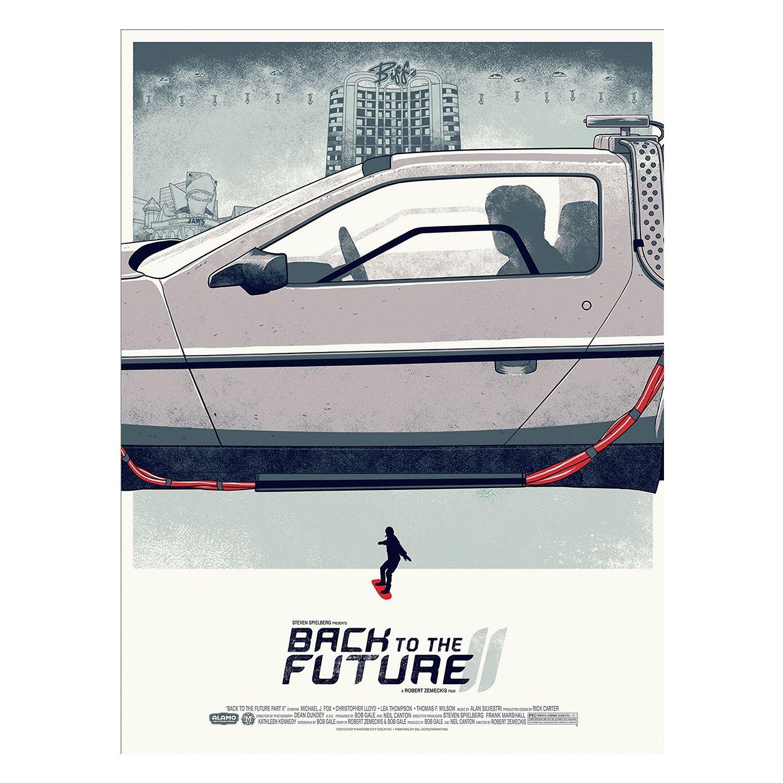 Fabulous Poster Cartel Regreso Al Futuro Segunda Película ...