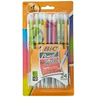 24-Count BIC Xtra-Sparkle Mechanical Pencil Medium Point 0.7mm