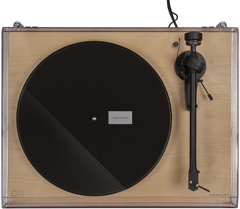 Tocadiscos Crosley C10 Natural: Amazon.es: Electrónica