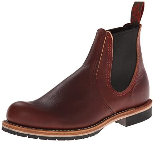 Red Wing Shoes Chelsea Rancher, Botas para hombre, Marrón (Brown), 40