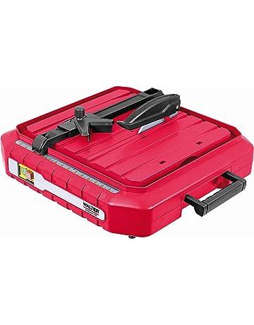 Walter Werkzeuge tc115ia Cortador de baldosas eléctrico, 500 W, 230 V, Rojo/
