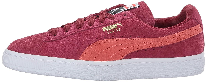 PUMA Women's Suede Classic Wn Sneaker B01MRY2RDD 6.5 B(M) US|Tibetan Red-hot Coral