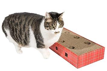 Pawnie - Rascador para Gatos con Bola de Juguete rodando en ...