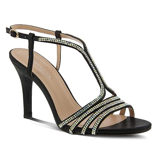 3fdd8006a1b0 PATRIZIA Women s Qizgin Strap Sandals Black
