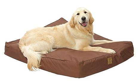 House of Paws Cámara de patas de profundidad relleno resistente al agua perro cama