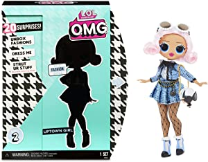 LOL Surprise O.M.G. Uptown Girl Fashion Doll with 20 Surprises