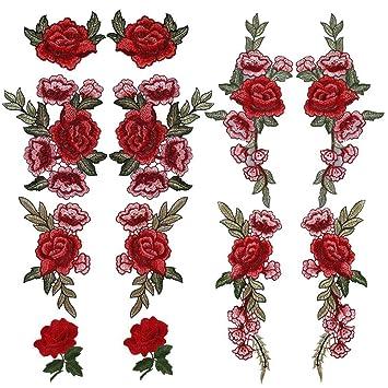 Bordado Flores Parches 5c21a1a69e04