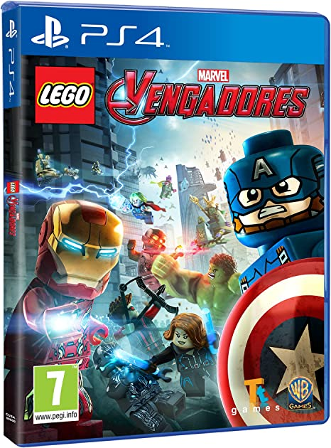 LEGO Vengadores - Edición Exclusiva Amazon - PlayStation 4: Amazon.es: Videojuegos