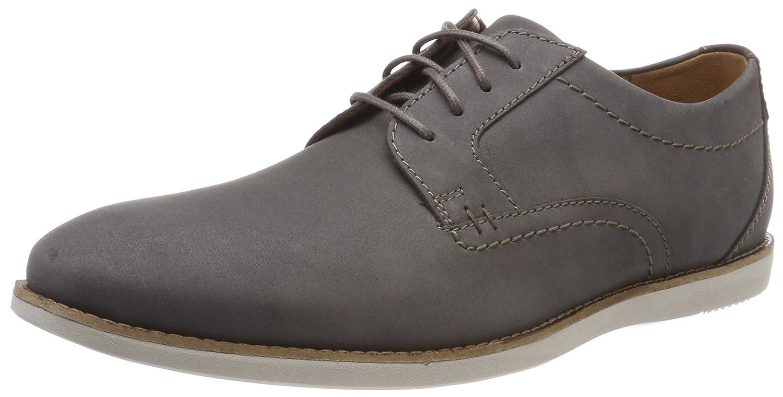 Clarks Raharto Plain, Zapatos de Cordones Derby para Hombre 45 EU