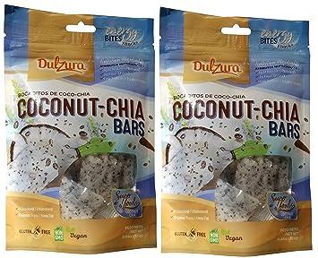 Dulzura Borincana Energy Bites Vegan Snacks Variety (Coconut Chia)
