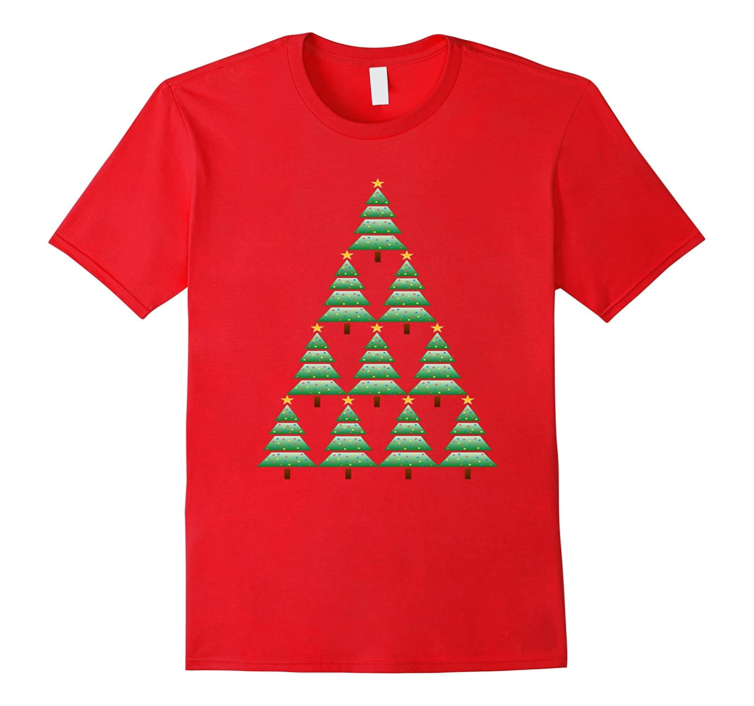 CHRISTMAS TREE T SHIRT-STAR-Costume Tee Shirt-ANZ